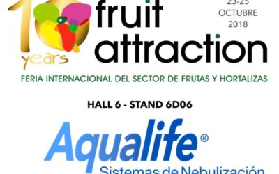 Aqualife expondrá en FRUIT ATTRACTION 2018