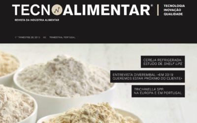 """Aqualife na revista """"TECNOALIMENTAR"""" de Portugal"""