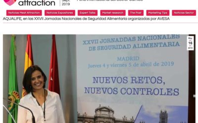Aqualife en «MEAT ATTRACTION NOTICIAS»