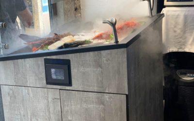 Sistema «Aqualife UAP» en restaurante de Lisboa