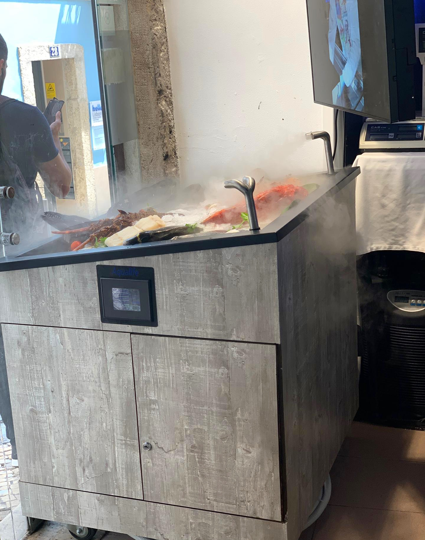 """Sistema """"Aqualife UAP"""" en restaurante de Lisboa"""
